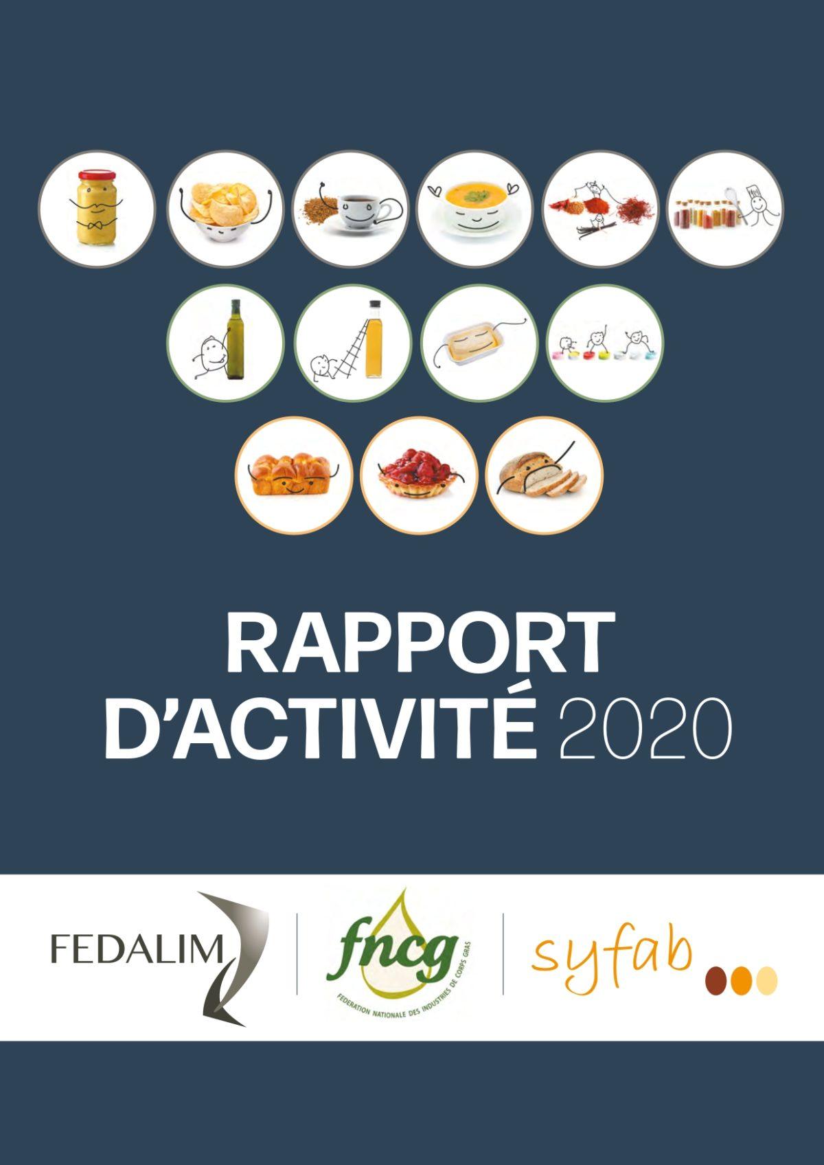 Rapport d'activité 2020 – FEDALIM FNCG SYFAB